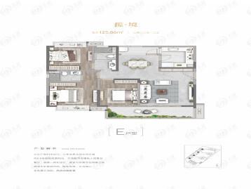 中国铁建·国际公馆户型图