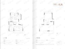 葛洲坝鼓悦蘭园4室2厅2卫户型图
