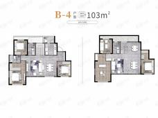中海·云麓九里6室4厅3卫户型图