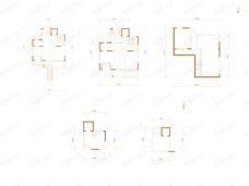 中建国望府3室2厅4卫户型图