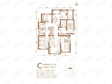 航城壹号3室2厅3卫户型图