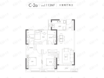 武汉城建汉阳印象户型图