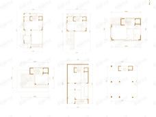 中建国望府4室2厅5卫户型图
