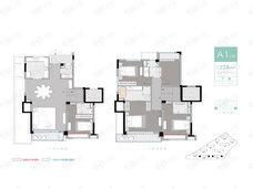 天珏华庭5室2厅4卫户型图