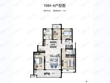 碧桂园天玺湾4室2厅2卫户型图