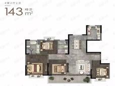 钟山峰景4室2厅2卫户型图