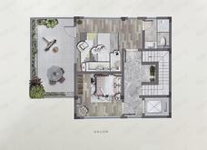 建发众安棠颂和鸣院7室2厅5卫户型图