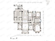 长沙星河湾6室3厅6卫户型图