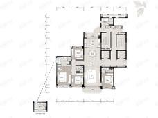 长沙星河湾5室2厅4卫户型图
