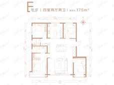 龙樾合玺E户型户型图