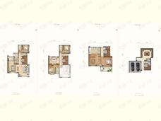 金隅上城郡4室3厅5卫户型图