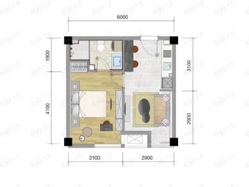 房总望园户型图
