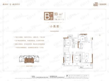 建业蓝海郑风户型图