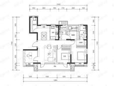 路劲御和府4室2厅2卫户型图