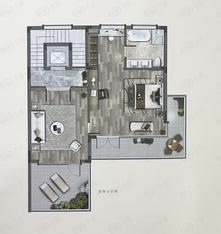 建发众安棠颂和鸣院5室2厅4卫户型图