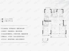 联发红城投藏珑大境4室2厅2卫户型图
