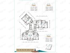 江湾·湖光印3室2厅2卫户型图
