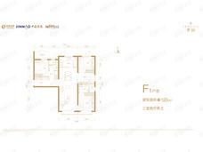 北京沁园3室2厅2卫户型图
