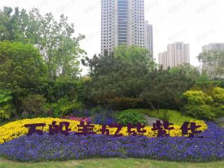 郑地美景紫华城在售建面约98-128㎡高层