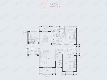 武汉城建·汉樾台户型图