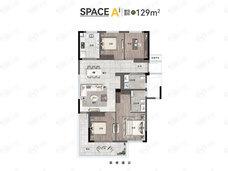 之彩城4室2厅2卫户型图