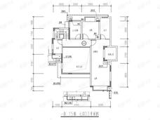保利紫山3室2厅3卫户型图