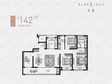 天宸云筑4室2厅2卫户型图