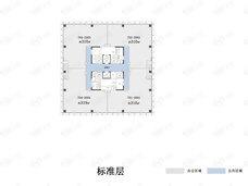 融信中心4室1厅2卫户型图