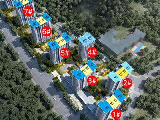 碧桂园招商珺悦家园在售建面约89、100㎡三居