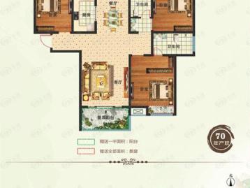 前城紫荆庄园(住宅)户型图
