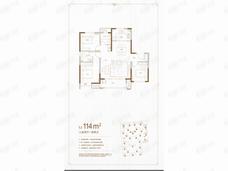 红星城市广场3室2厅2卫户型图