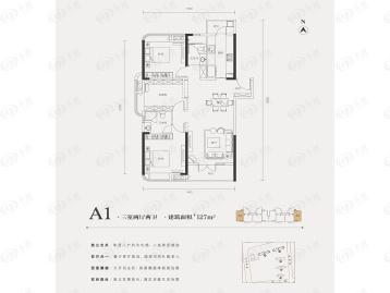 武汉城建幸福时代大家户型图