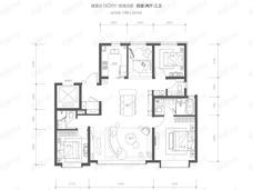 和光悦府4室2厅3卫户型图