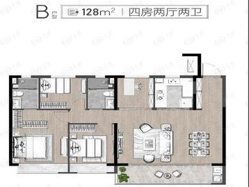 长江时代1314户型图
