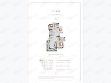 圣桦樾西湖4室2厅2卫户型图