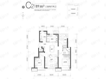 金茂北京国际社区户型图