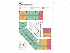 江旅都市方舟1室1厅1卫户型图