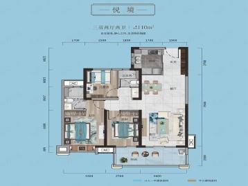 荆州雅居乐·锦城户型图