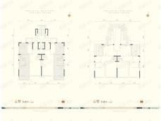 阳光城京悦府2室3厅2卫户型图
