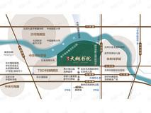 珠江·天樾书院位置交通图