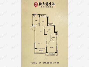 郑州恒大养生谷户型图
