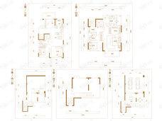 中铁华侨城和园4室2厅3卫户型图