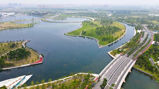 上海之鱼鸟瞰实景图