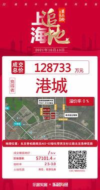 临港城投12.87亿底价竞得临港A02-01、A04-01商住租赁地块