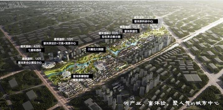 普洱茶中心规划