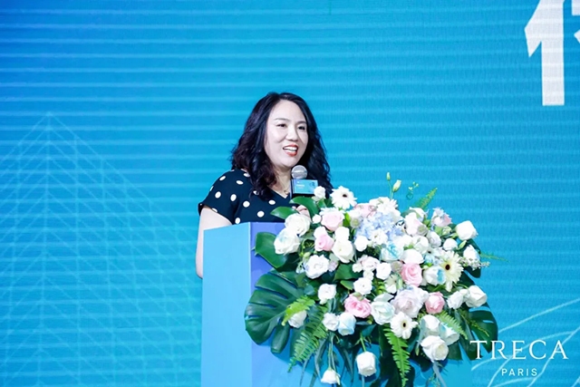 郑州凯丽家居商贸有限公司董事长付丽华女士致辞