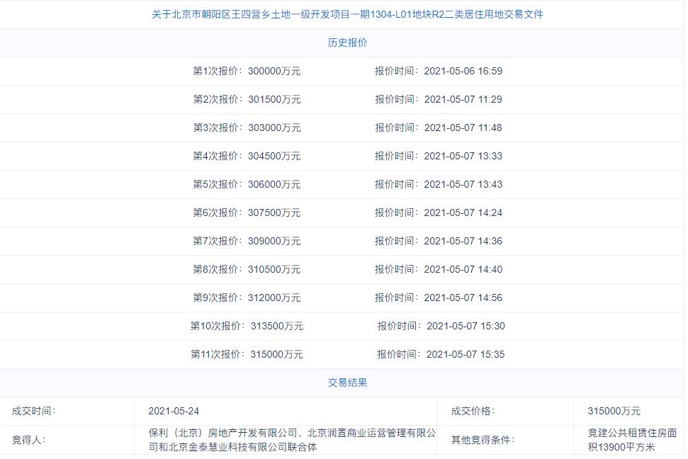 朝阳区王四营L01-01地块