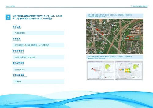 大兴2021-2022年度供地计划