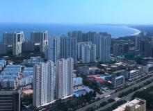 海港区8月住宅均价约12809元/平方米  金梦海湾将新开高端楼盘