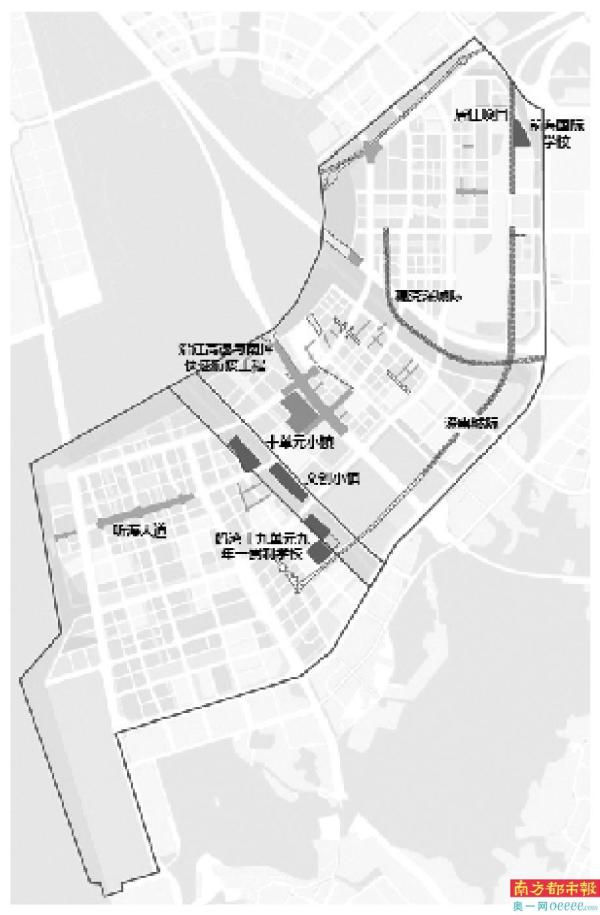 包括公共管理与服务设施用地5.0公顷、交通设施用地20.0公顷